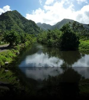 Arrière plan de Teahupoo