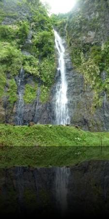La première des 3 cascades